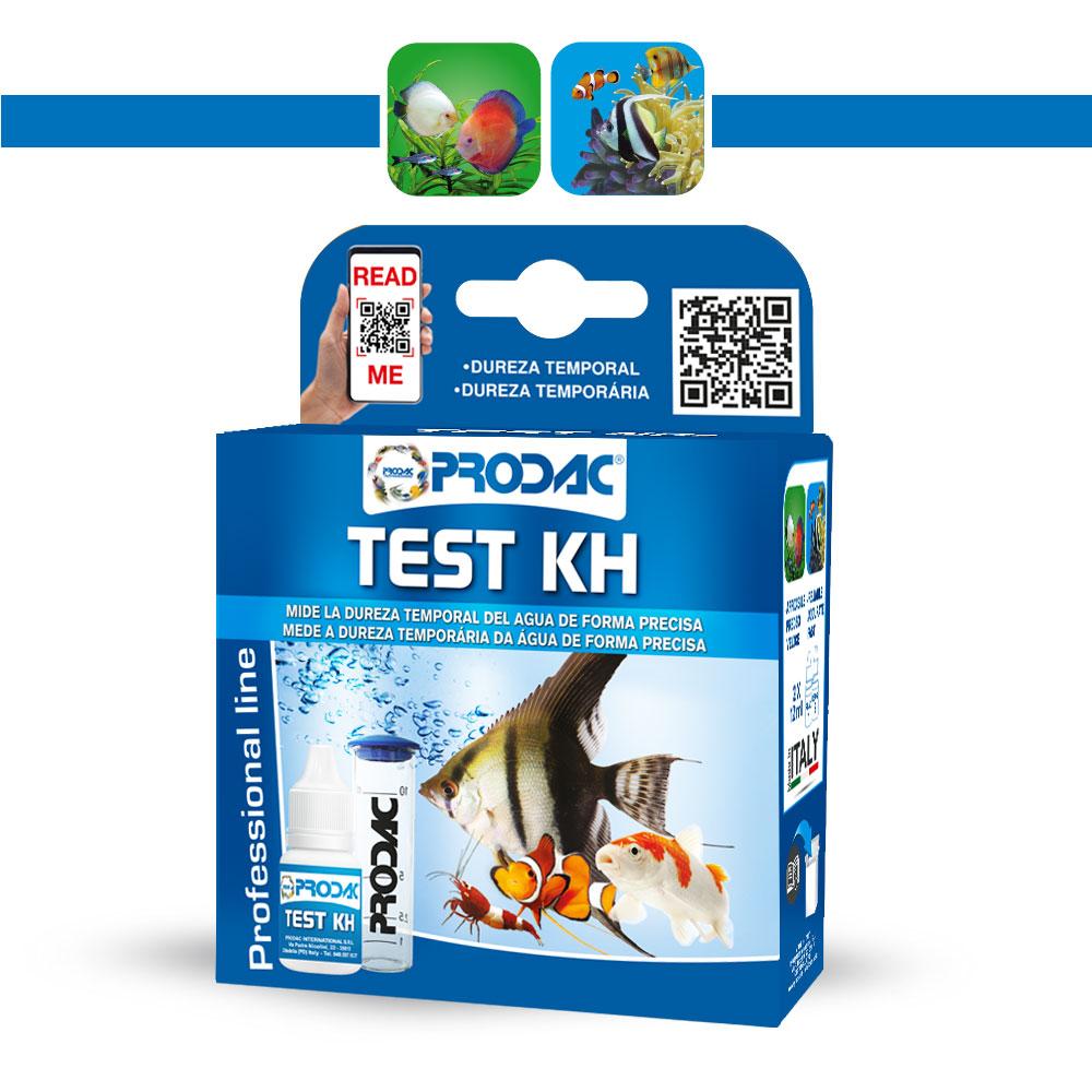 Teste Prodac Dureza Carbonatada KH - Aquário Doce e Marinho